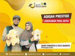 Aqiqah Nurul Hayat bersama keluarga Mario Irwinsyah & Ratu Anandita