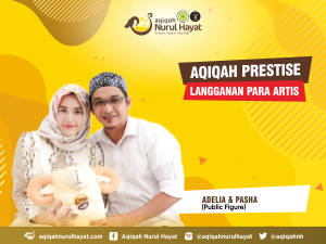 Aqiqah Nurul Hayat bersama keluarga Pasha & Adelia