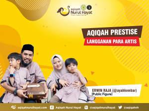 Aqiqah Nurul Hayat bersama keluarga Erwin Raja