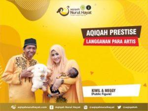 Aqiqah Nurul Hayat bersama keluarga Kiwil & Meggy