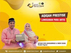Aqiqah Nurul Hayat bersama keluarga Ustadz Riza Muhammad