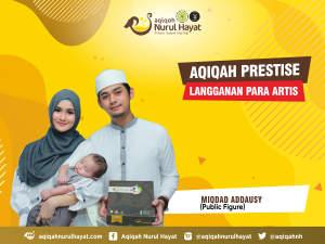 Aqiqah Nurul Hayat bersama keluarga Miqdad Addausy