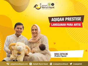 Aqiqah Nurul Hayat bersama keluarga Nina Zatulini
