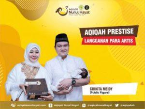 Aqiqah Nurul Hayat bersama keluarga Chikita Meidy